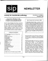 SIP Newsletter (Volume 32, Number 3)