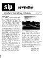 SIP Newsletter (Volume 6, Number 3)