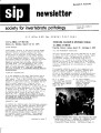 SIP Newsletter (Volume 7, Number 3)