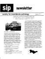 SIP Newsletter (Volume 10, Number 2)