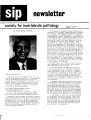 SIP Newsletter (Volume 11, Number 4)