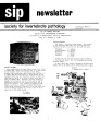 SIP Newsletter (Volume 12, Number 3)