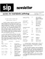 SIP Newsletter (Volume 15, Number 3)
