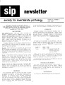 SIP Newsletter (Volume 14, Number 3)