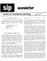 SIP Newsletter (Volume 14, Number 4)