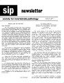 SIP Newsletter (Volume 20, Number 1)