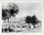 [Architect's drawing of the UMBC Computer Science & Engineering Building]