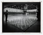 [Basketball court, UMBC, 1972]