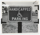 [Handicapped parking sign, 1974]